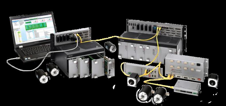 EtherCAT 기반 드라이브 일체형 모션컨트롤러 MC4U