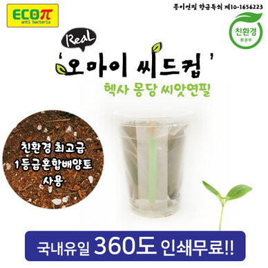오마이 씨드컵 [씨앗연필+컵화분]