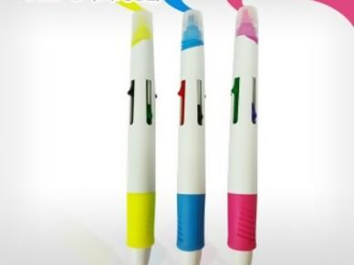 HL-5(4색볼펜+형광펜)