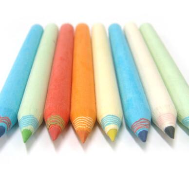제브라 몽당색연필
