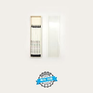 미스테리착각연필(육각) 6본입 슬리브지함세트