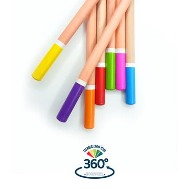 [제작제품] 홍목원형미두연필