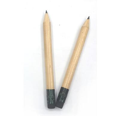 원목원형몽당지우개연필