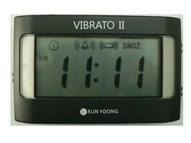 진동알람탁상시계(비브라토 II : VIBRATO II)