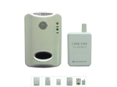 무선 화재경보시스템 (케어파이어 : CARE - FIRE)