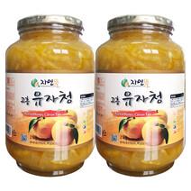자연뜰 고흥 유자청 2kgx2개