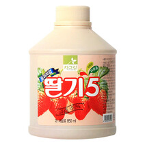 차그림 딸기 원액 850mlx12개(1박스)