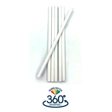 화이트원형미두연필 (무광페인트)