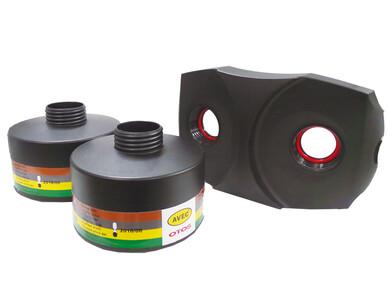 에어윙 전동식 호흡보호구 복합용 가스필터