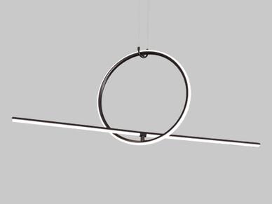 LED 랑데뷰 P/D 40W(4.0K) 블랙