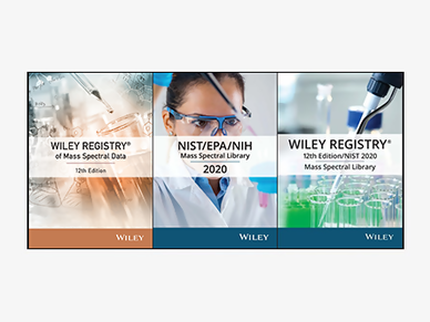 GC/MS Library (Wiley, NIST)